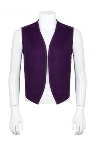 Aladdin Purple Cotton Vest