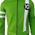 Alien Swarm Ben 10 Leather Green Jacket