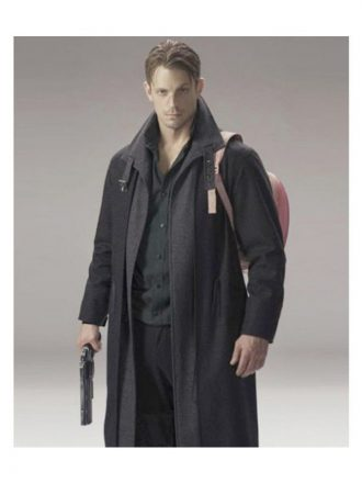 Altered Carbon Takeshi Kovacs Black Wool Coat