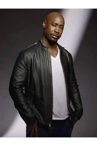 Amenadiel Lucifer Biker Leather Jacket