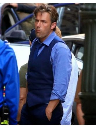 Batman V Superman Dawn Of Justice Bruce Wayne Blue Vest