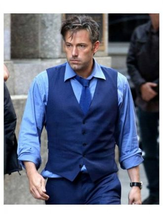 Ben Affleck Batman V Superman Blue Vest