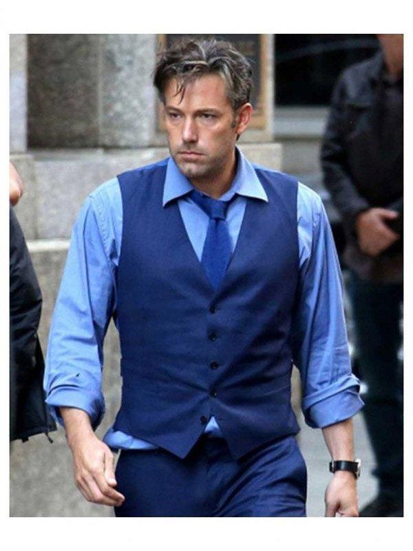 Ben Affleck Batman V Superman Blue Vest