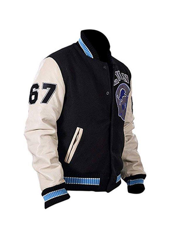 Beverly Hills Cop Axel Foley Baseball Letterman Jacket