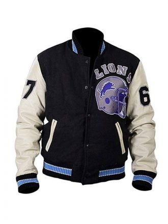 Beverly Hills Cop Axel Foley Varsity Bomber Jacket