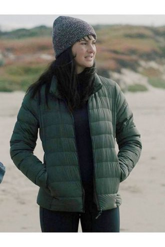 Big Little Lies Jane Chapman Green Puffer Jacket