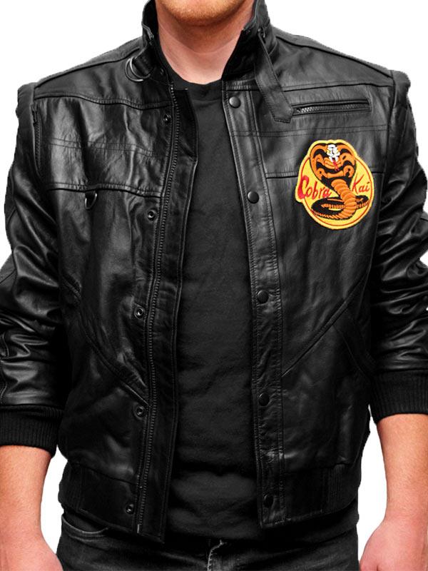 Black Cobra Kai Jacket