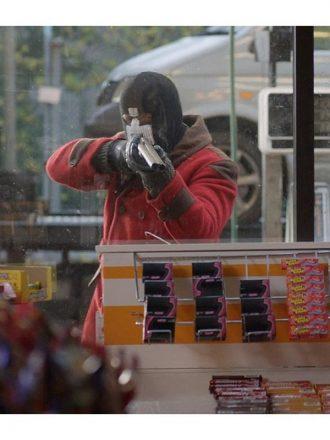 Black Mirror S02 Lee Nicholas Harris Double Breasted Wool Jacket