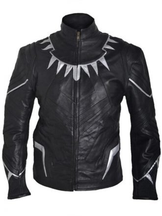 Black Panther Chadwick Boseman Jacket