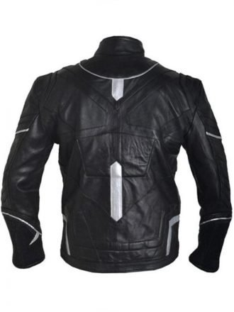 Black Panther Chadwick Boseman T'Challa Leather Jacket