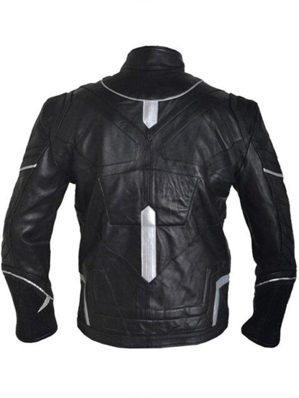 Black Panther Chadwick Boseman T'Challa Leather Jacket