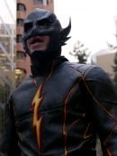 Black Racer The Flash Leather Jacket