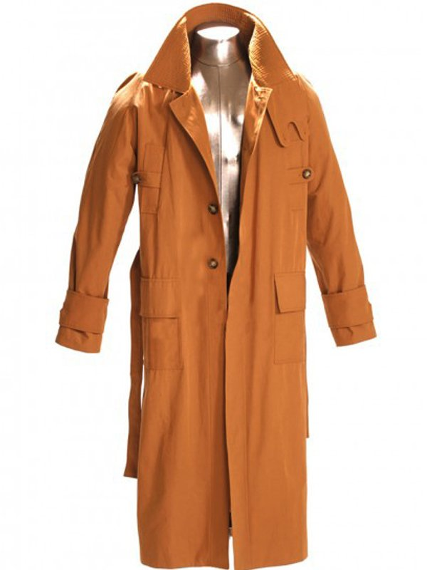 Blade Runner 1982 Harrison Ford Brown Wool Coat