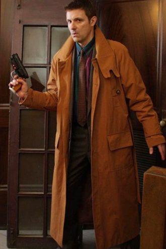 Blade Runner 1982 Rick Deckard Trench Coat
