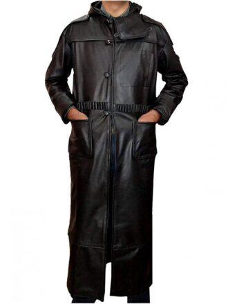 Blade Runner 1982 Rutger Hauer Black Trench Coat