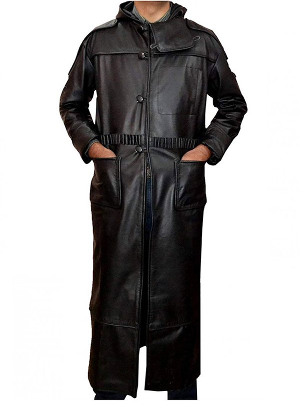 Blade Runner 1982 Rutger Hauer Black Trench Coat