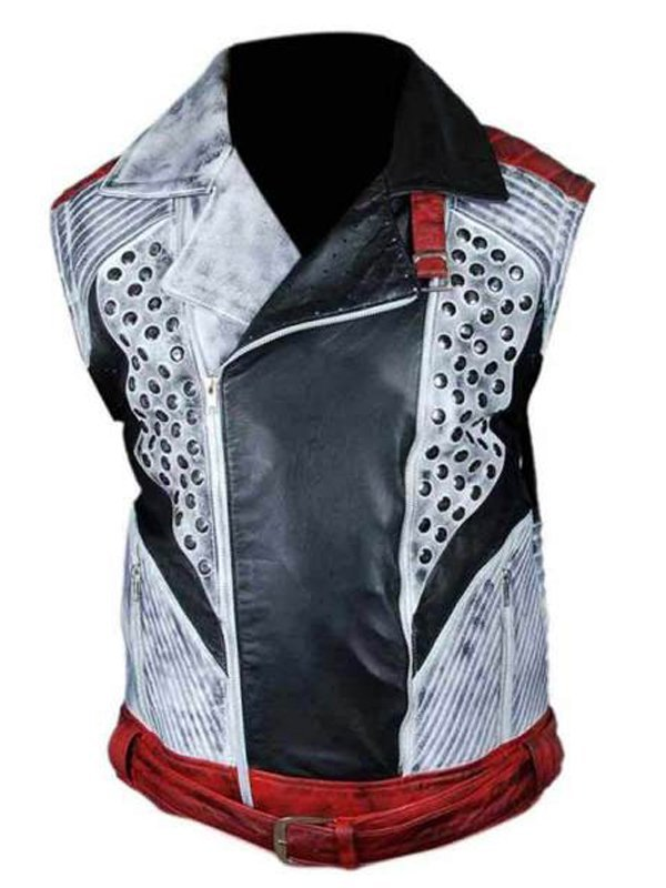 Cameron Boyce Descendants 2 Biker Jacket With Removable Sleeves