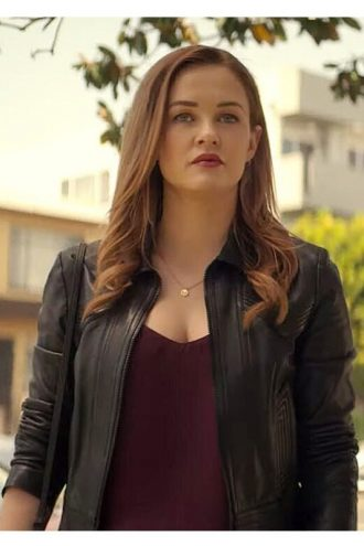Candace Stone You S02 Leather Jacket