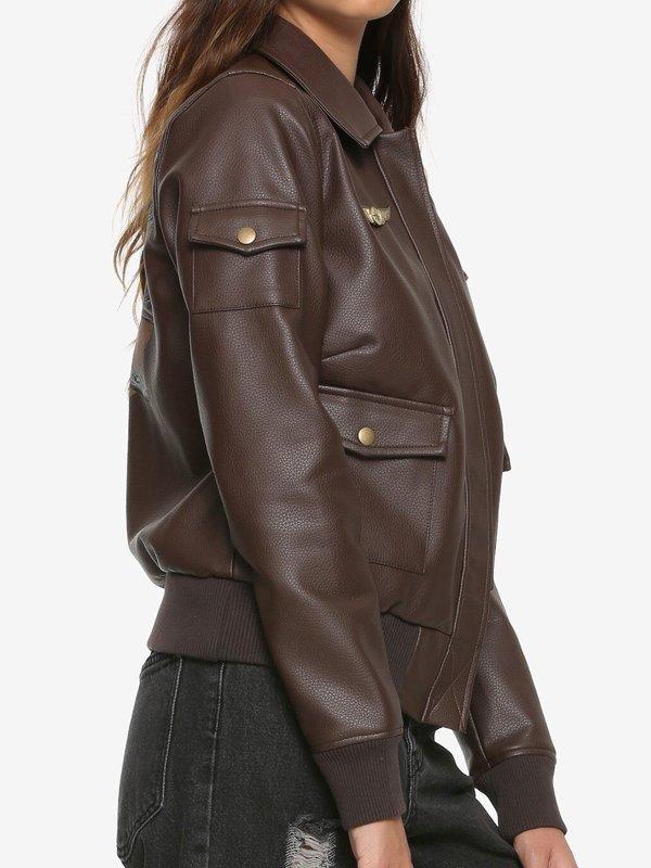 Carol Danvers Captain Marvel Air Force Jacket