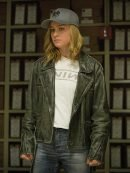 Carol Danvers Captain Marvel Biker Leather Jacket