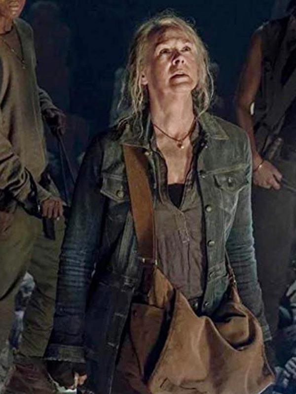 Carol Peletier The Walking Dead Blue Jacket