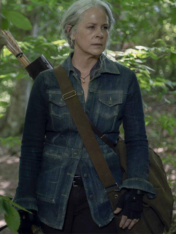 Carol Peletier The Walking Dead Denim Jacket