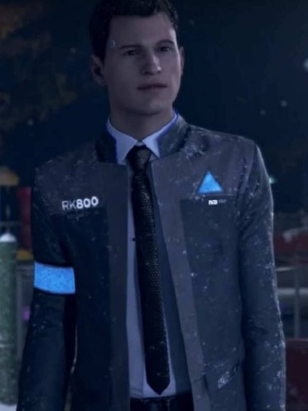 Connor Detroit Become Human Grey Jacket