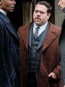 Dan Fogler Fantastic Beasts 2 Brown Trench Coat