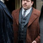 Dan Fogler Fantastic Beasts 2 Brown Trench Coat