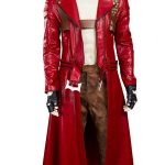 Dante Devil May Cry 3 Red Trench Coat