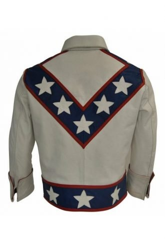 Daredevil Robert Craig Stuntman Biker Leather Jacket