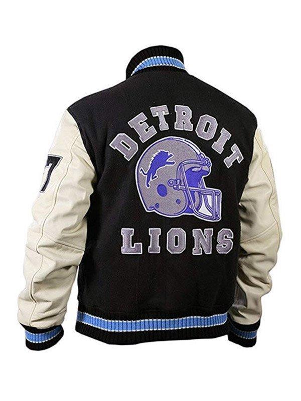 Detroit Lions Beverly Hills Cop Eddie Murphy Letterman Jacket