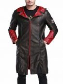 Devil May Cry Dante Black Hooded Coat