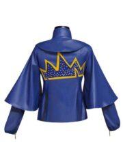 Disney Descendants Evie Blue Leather Jacket