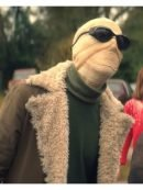 Doom Patrol Negative Man Brown Cotton Fur Coat