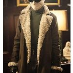 Doom Patrol Negative Man Shearling Coat