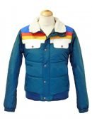 Edge of Seventeen Hailee Steinfeld Blue Fur Collar Jacket