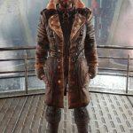 Elder Maxson Fallout 4 Distressed Leather Battlecoat