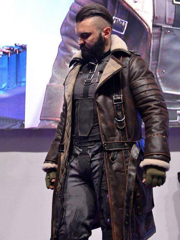 Elder Maxson Fallout 4 Shearling Battlecoat