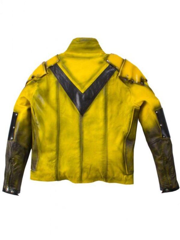 Eobard Thawne The Reverse Flash Leather Jacket