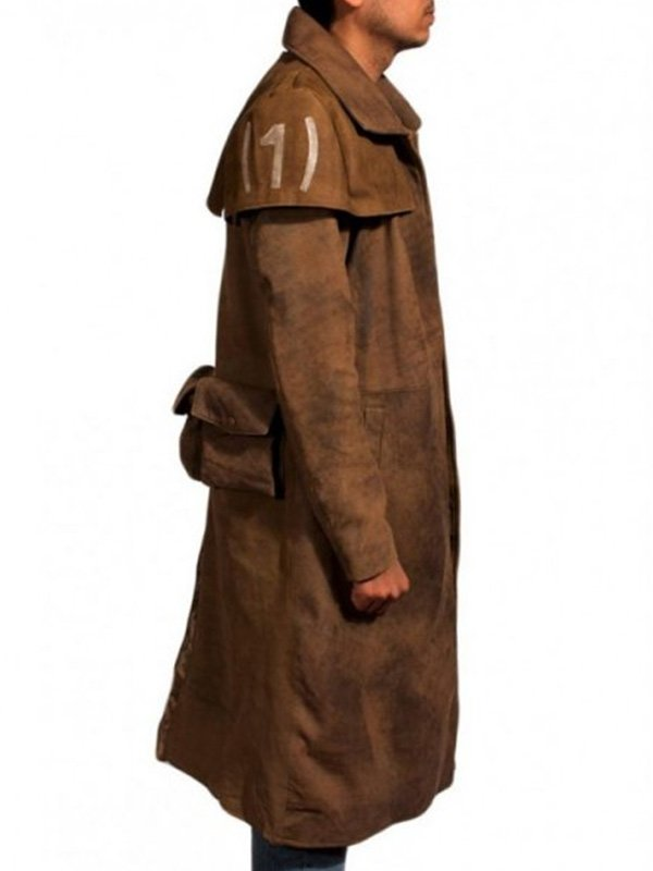 Fallout NCR Ranger Brown Duster Coat