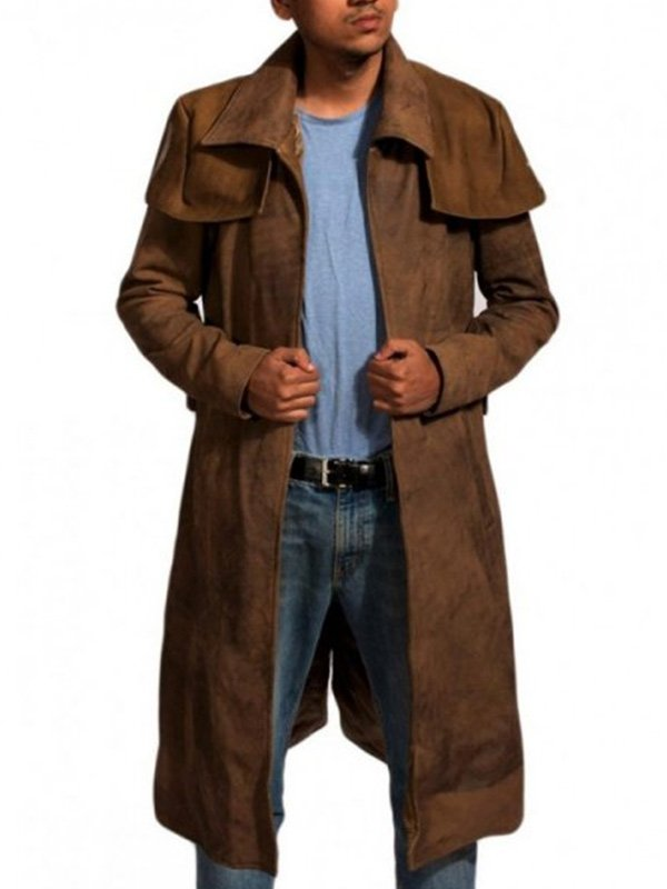 Fallout NCR Ranger Brown Leather Coat