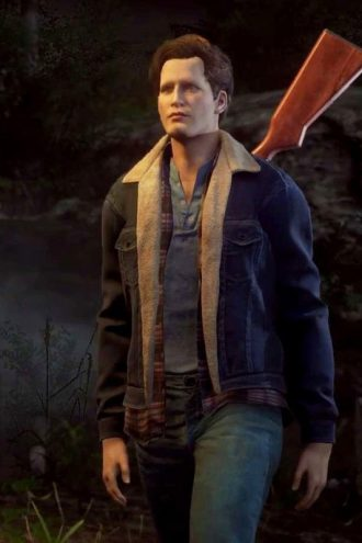 Friday The 13th Tommy Jarvis Shearling Denim Jacket