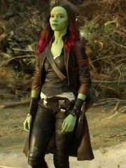 Gamora Guardians of the Galaxy Brown Coat