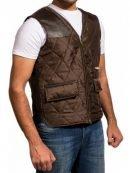 Governor The Walking Dead Brown Vest