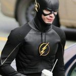 Grant Gustin The Flash Black Leather Jacket