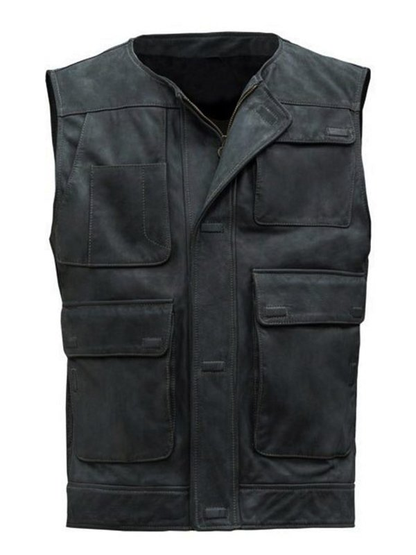 Han Solo Star Wars A New Hope Leather Vest