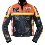 Harley Davidson And The Marlboro Man Biker Leather Jacket