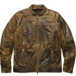 Harley Davidson Miramar Distressed Brown Leather Jacket