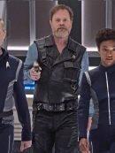 Harry Mudd Star Trek Discovery Black Leather Vest